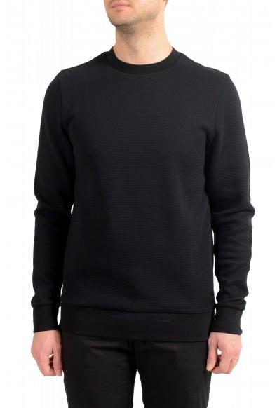 """Hugo Boss """"Stadler 44"""" Men's Black Sweatshirt Sweater"""