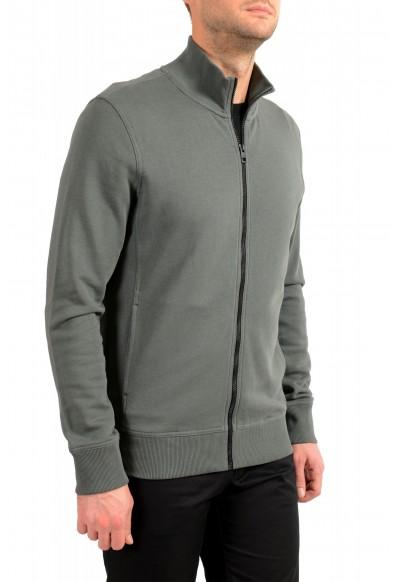 "Hugo Boss ""Zkybox 1"" Men's Olive Green Full Zip Track Sweater Jacket: Picture 2"