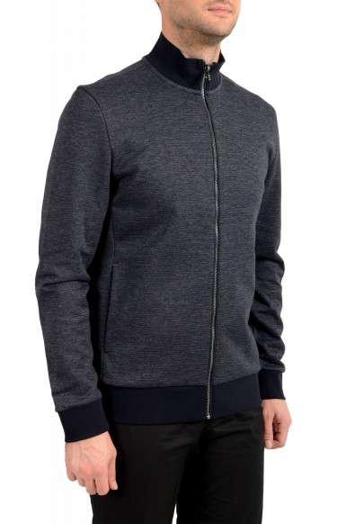 "Hugo Boss ""Shepherd 33"" Men's Off Black Full Zip Track Sweater Jacket: Picture 2"
