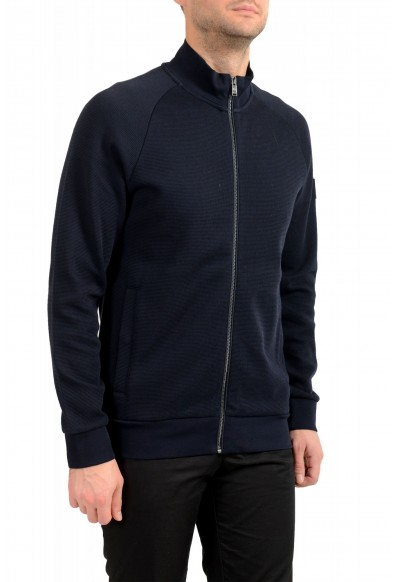 "Hugo Boss ""Shepherd 33"" Men's Blue Full Zip Track Sweater Jacket: Picture 2"