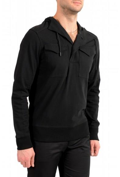 """Hugo Boss Men's """"Zelevel"""" Black Hooded Sweatshirt Sweater: Picture 2"""
