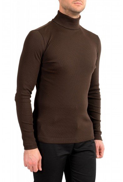 "Hugo Boss Men's ""Tenore 06"" Brown Turtleneck Pullover Sweater: Picture 2"