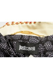 Just Cavalli Women's Ivory Beads Decorated Button Down Jacket : Picture 5