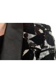 Just Cavalli Women's Sequins Decorated Tuxedo Style Blazer : Picture 4