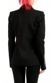Just Cavalli Women's Wool Black One Button Blazer : Picture 3