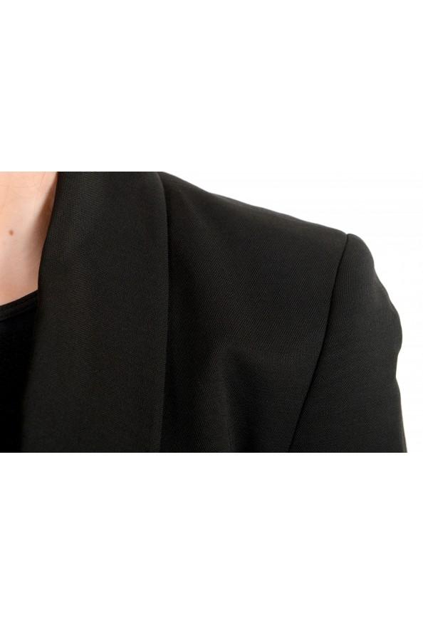 Just Cavalli Women's Wool Black One Button Blazer : Picture 4
