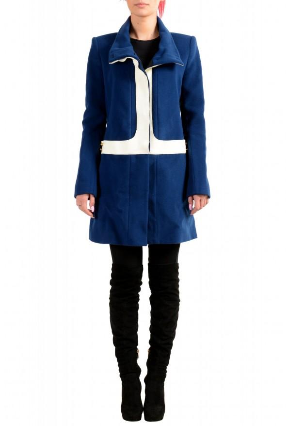 Just Cavalli Women's Multi-Color Wool Coat
