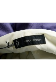 Dsquared2 Women's 100% Wool Purple Double Breasted Basic Jacket: Picture 5