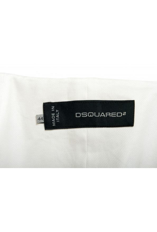 Dsquared2 Women's White Full Zip Cropped Blazer : Picture 6