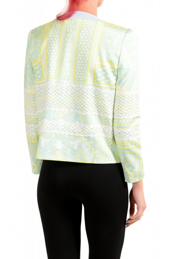 Just Cavalli Women's Multi-Color Striped Button Down Blazer Jacket : Picture 3