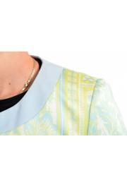 Just Cavalli Women's Multi-Color Striped Button Down Blazer Jacket : Picture 4