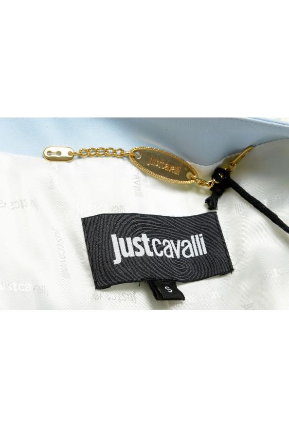 Just Cavalli Women's Multi-Color Striped Button Down Blazer Jacket : Picture 5