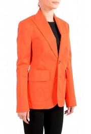 Dsquared2 Women's Bright Orange Two Button Blazer: Picture 2