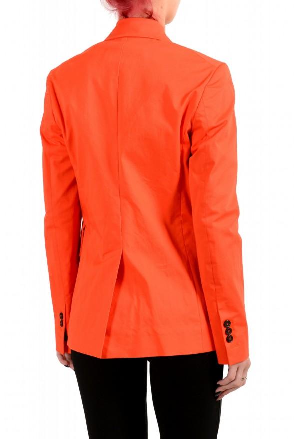 Dsquared2 Women's Bright Orange Two Button Blazer: Picture 3