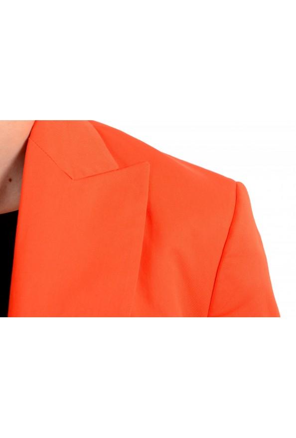 Dsquared2 Women's Bright Orange Two Button Blazer: Picture 4