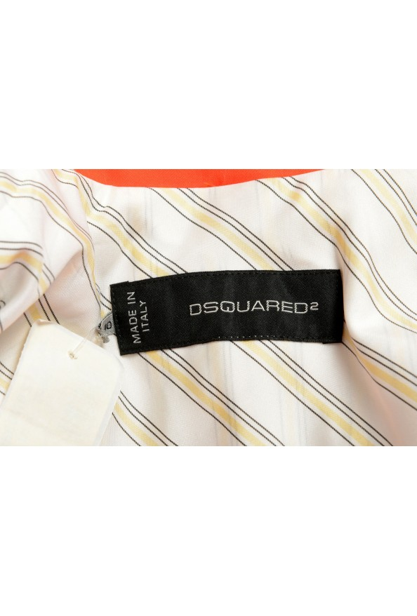Dsquared2 Women's Bright Orange Two Button Blazer: Picture 5