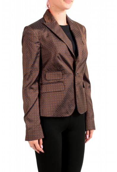 Dsquared2 Women's 100% Silk Floral Print One Button Blazer : Picture 2