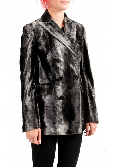 Dsquared2 Women's Gray Double Breasted Blazer : Picture 2