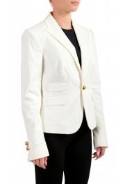 Dsquared2 Women's White One Button Blazer : Picture 2