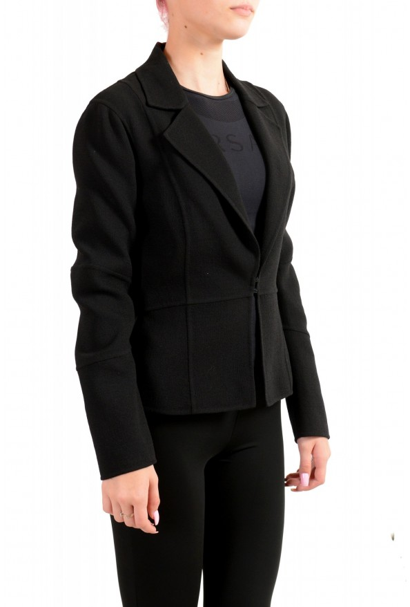 Dsquared2 Women's Black Wool Knitted Blazer : Picture 2