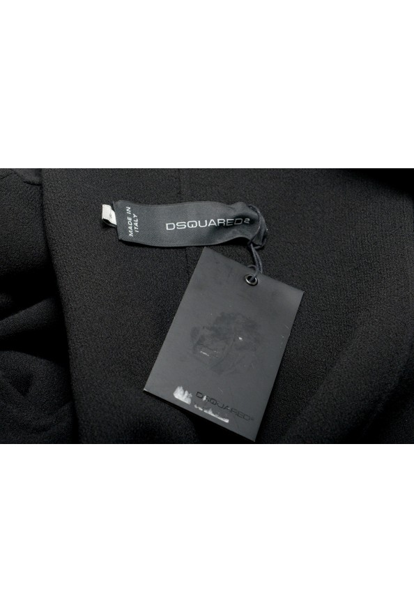 Dsquared2 Women's Black Wool Knitted Blazer : Picture 6