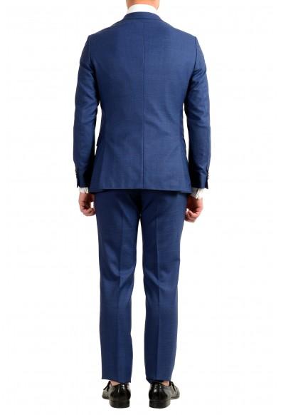 "Hugo Boss Men's ""Novan5/Ben2"" Slim Fit 100% Wool Blue Two Button Suit : Picture 2"