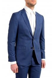 "Hugo Boss Men's ""Novan5/Ben2"" Slim Fit 100% Wool Blue Two Button Suit : Picture 3"
