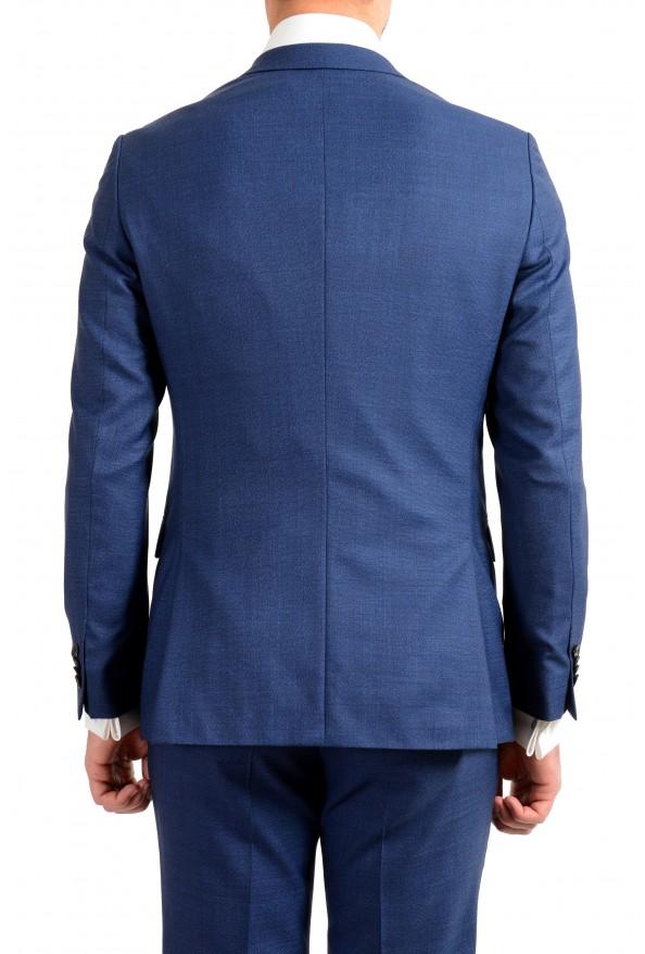 "Hugo Boss Men's ""Novan5/Ben2"" Slim Fit 100% Wool Blue Two Button Suit : Picture 4"