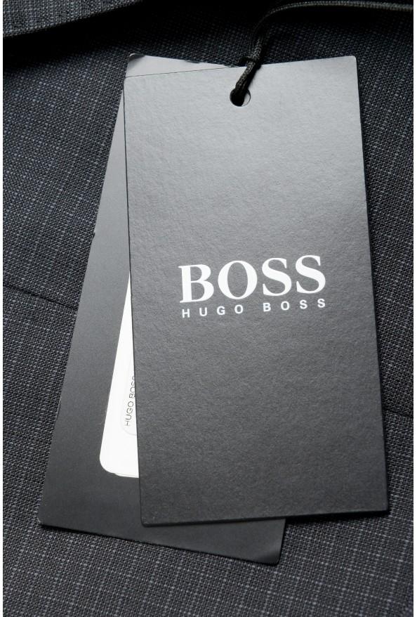 "Hugo Boss Men's ""Helward1/Gelvin_1"" Slim Fit 100% Wool Purple Tuxedo Suit: Picture 3"