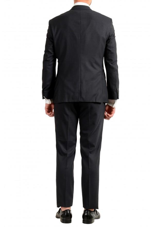"Hugo Boss Men's ""Helward1/Gelvin_1"" Slim Fit 100% Wool Purple Tuxedo Suit: Picture 5"