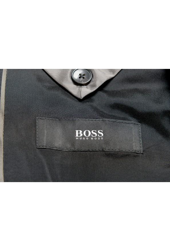 "Hugo Boss Men's ""Helward1/Gelvin_1"" Slim Fit 100% Wool Purple Tuxedo Suit: Picture 13"