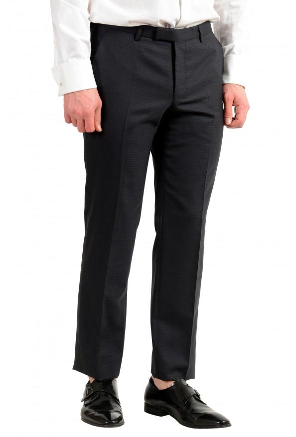 "Hugo Boss Men's ""Helward1/Gelvin_1"" Slim Fit 100% Wool Purple Tuxedo Suit: Picture 11"
