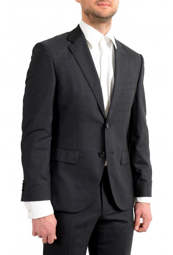 "Hugo Boss Men's ""Helward1/Gelvin_1"" Slim Fit 100% Wool Purple Tuxedo Suit: Picture 8"