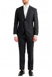 "Hugo Boss Men's ""Helward1/Gelvin_1"" Slim Fit 100% Wool Purple Tuxedo Suit: Picture 14"