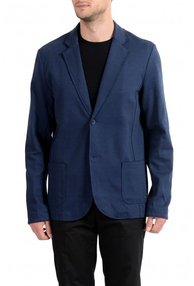 "Hugo Boss ""Wacante"" Men's Blue Stretch Two Button Blazer Sport Coat"
