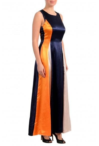 """Hugo Boss Women's """"Kanisi"""" Multi-Color Maxi Sleeveless Sundress Dress: Picture 2"""
