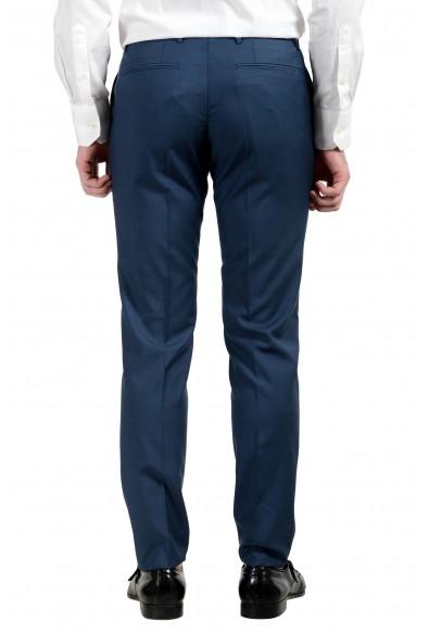 "Hugo Boss ""Rocco/Wyatt"" Men's 100% Wool Dark Blue Two Button Suit: Picture 2"