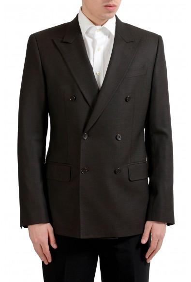 """Dolce & Gabbana """"Sicilia"""" Men's Silk Wool Brown Blazer Sport Coat"""
