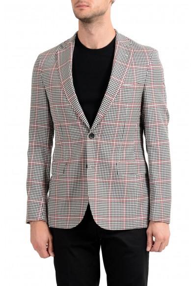 """Hugo Boss """"Roan1"""" Men's 100% Wool Extra Slim Two Button Blazer Sport Coat"""
