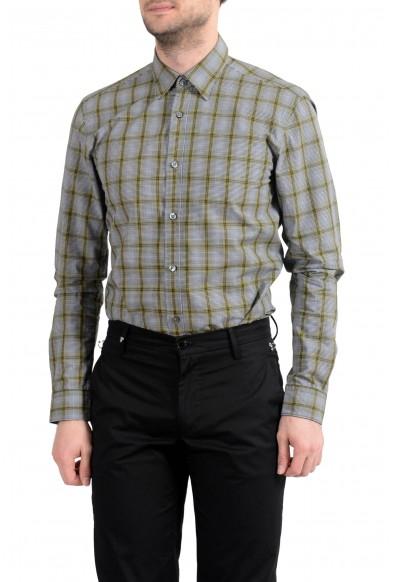 "Hugo Boss ""Rog_53"" Men's Slim Fit Plaid Long Sleeve Casual Shirt: Picture 2"