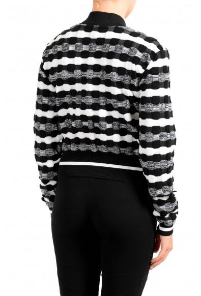 Just Cavalli Women's Multi-Color Zip Up Cardigan Sweater: Picture 2