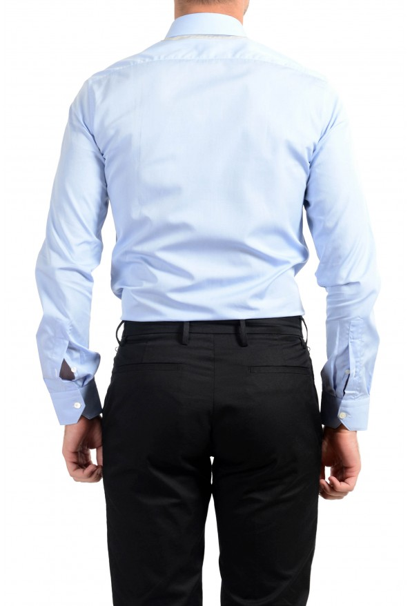 Lanvin Men's Light Blue Long Sleeve Dress Shirt: Picture 2