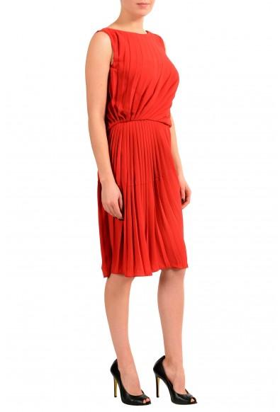 Maison Margiela 1 Red Sleeveless Women's Sheath Dress : Picture 2