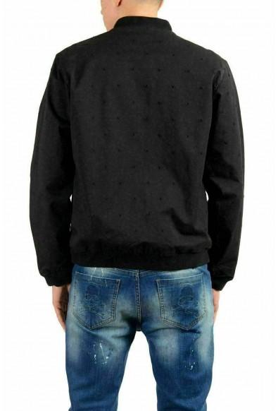 Versace Jeans Men's Black Full Zip Bomber Light Jacket: Picture 2