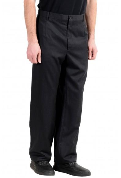 Dolce&Gabbana Men's 100% Wool Charcoal Dress Pants: Picture 2