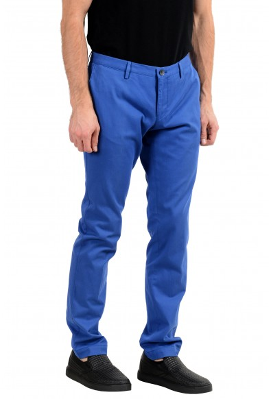 "Hugo Boss ""Stanino16-W"" Men's Blue Slim Stretch Casual Pants : Picture 2"