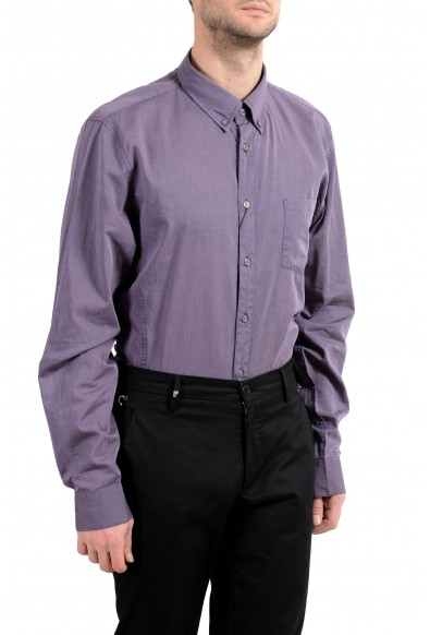 John Varvatos Purple Long Sleeve Men's Dress Shirt: Picture 2