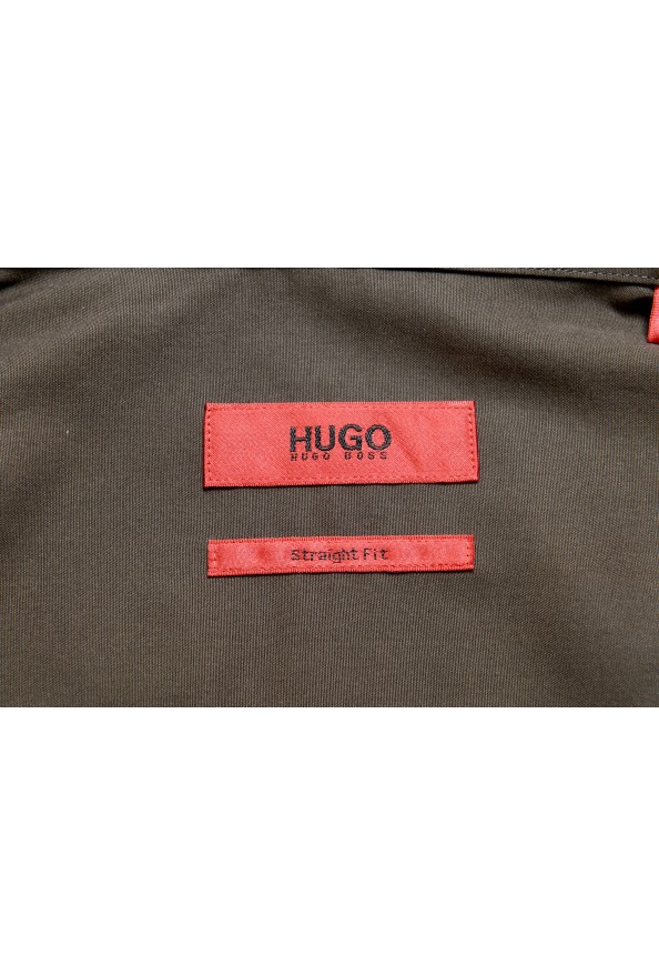 """Hugo Boss """"Emingway"""" Men's Straight Fit Long Sleeve Casual Shirt: Picture 7"""