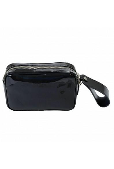 Versace Versus Women's Gray Patent Leather Wrist Bag Clutch: Picture 2