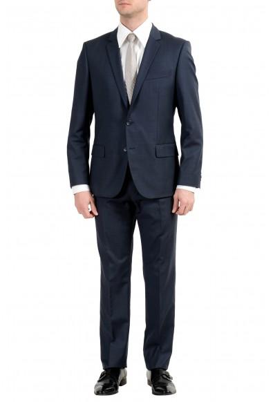 "Hugo Boss ""Alim2/HimensHM"" Men's 100% Wool Dark Gray Two Button Suit"
